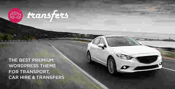 قالب اجاره خودرو ماشین ترنسفرز RTL وردپرس