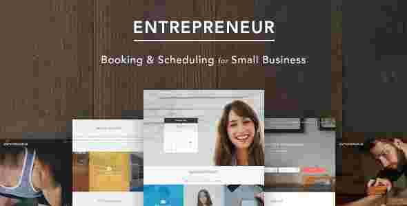 قالب تجاری بیزنس کوچک کارآفرین وردپرس