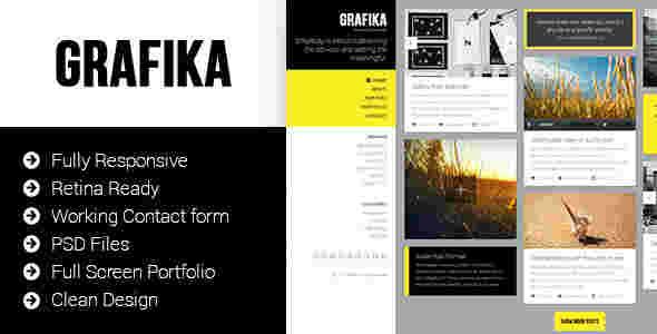 قالب وبلاگ عکس گرافیکا html