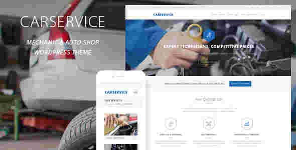 قالب شرکت سرویس خودرو وردپرس RTL کار سرویس