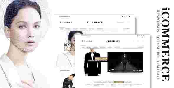 قالب فروشگاهی HTML iCommerce