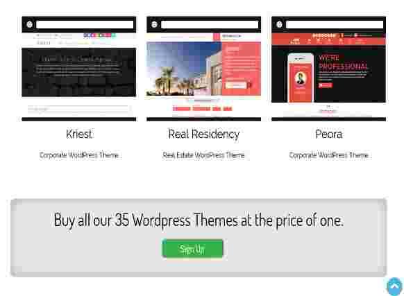 35 قالب سایت شخصی شرکتی وردپرس
