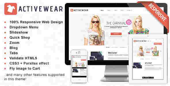 قالب فروشگاهی طراح لباس HTML