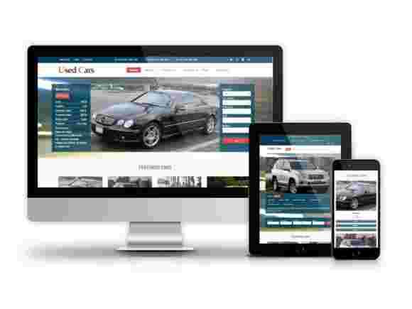 قالب سایت خرید فروش خودرو ماشین RTL دروپال