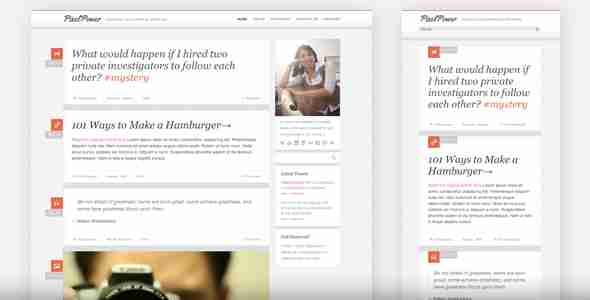 قالب ساده وبلاگ نویسی html