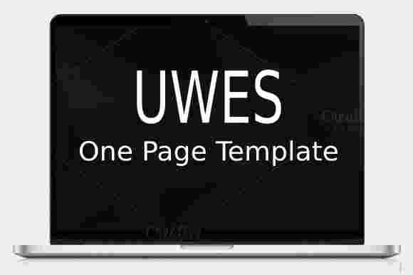 2 قالب تک صفحه ای بوت استریپ HTML