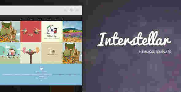 قالب مولتی سایت وبلاگ نویسی ستارگان html