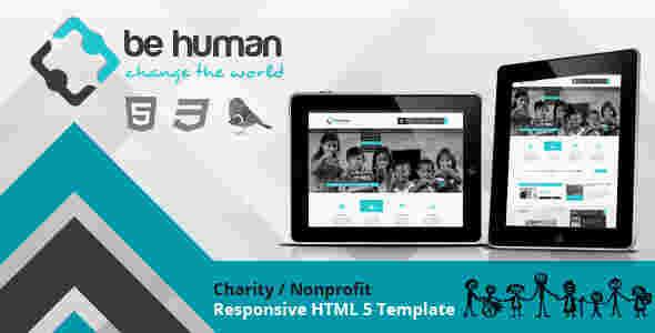 قالب تجاری وبلاگ نویسی بی هیومن html